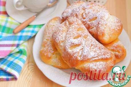 Пряные булочки с абрикосовым джемом - кулинарный рецепт