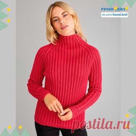 Пуловер в вашу коллекцию. Все описание и схемки в файлах