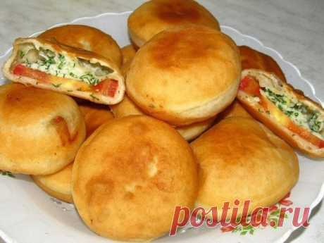 "The most unusual recipe of pies. Prepare houses tasty ""Bombochka\""!"