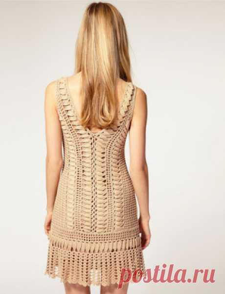 Узоры для гламурного платья от Karen Millen