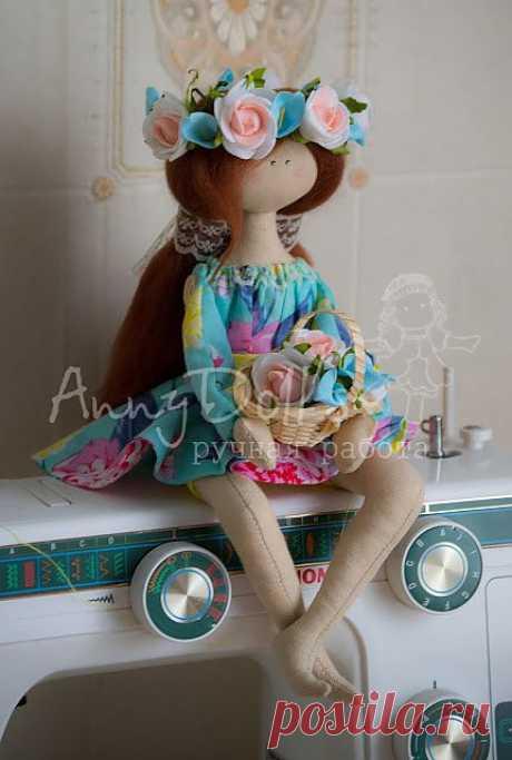 Сидячая куколка (на примере Садовой Берегини) - Ярмарка Мастеров - ручная работа, handmade