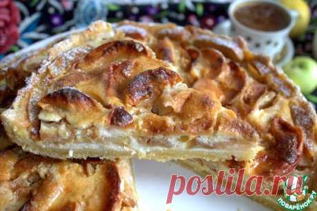 Баварский яблочный пирог Кулинарный рецепт