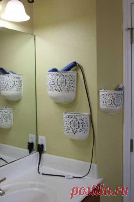 15 советов по компактному хранению вещей в ванной — Мой дом