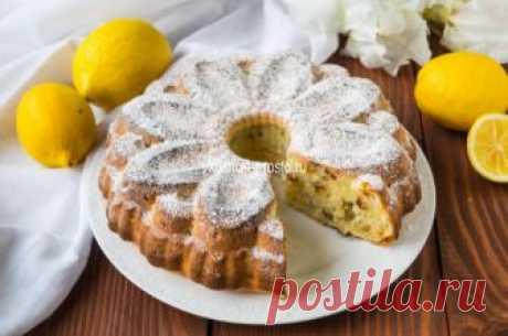 Лимонный кекс на кефире с изюмом » Вкусно и просто. Кулинарные рецепты с фото и видео
