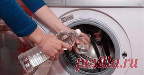 Просто долий оцет в пральну машинку: секрет, за який можна багато чого віддати - Пошепки Просто вражає, скількома корисними якостями володіє звичайний столовий оцет!Він додає блиск кахлю, дзеркалам і келихам, очищає крани і змішувачі від вапня