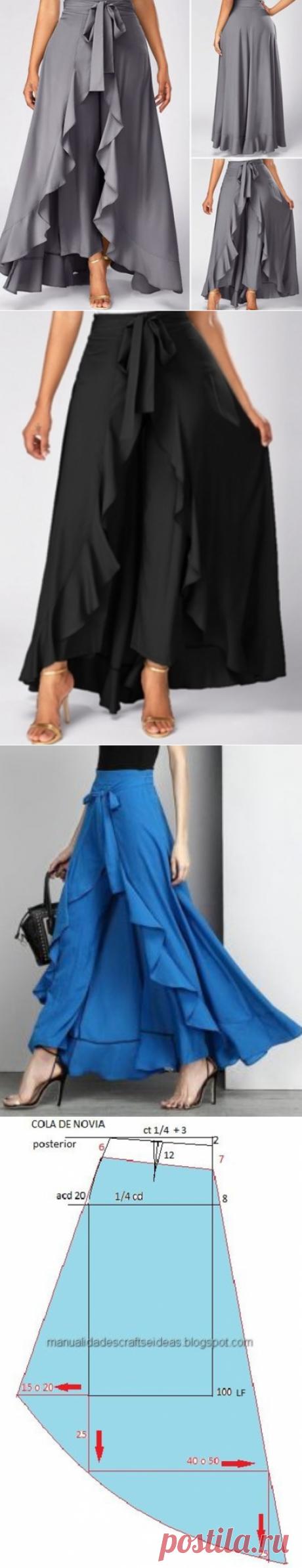 ОК. Юбка - брюки палаццо.