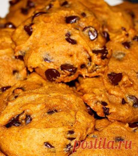 Тыквенно-шоколадное печенье | «Купи батон!»