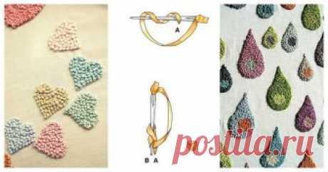 Симпатичные идеи, которые вам понравятся: узелковая вышивка на одежде и аксессуарах ...