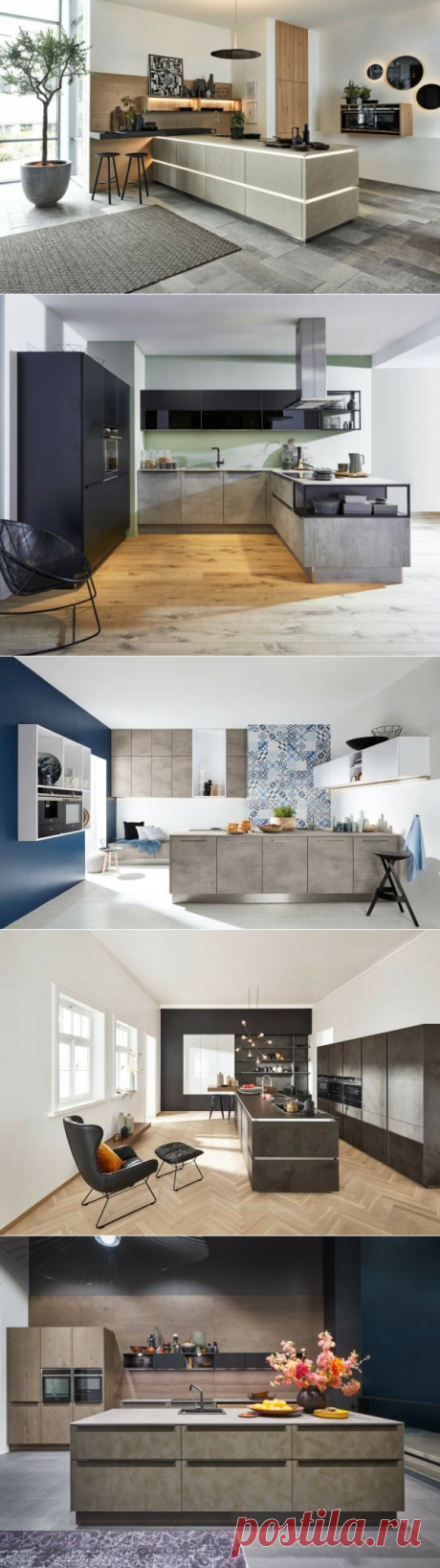 Мебель из бетона – модный тренд для кухонных интерьеров | Nolte Küchen | Яндекс Дзен