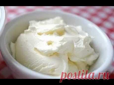 Как сделать сливочный сыр маскарпоне, крем сыр