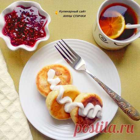 Творожные сырники в духовке, ПП рецепт.