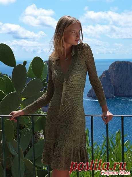 Платье Амальфи от Джованны Диас - Вяжем вместе он-лайн - Страна Мам