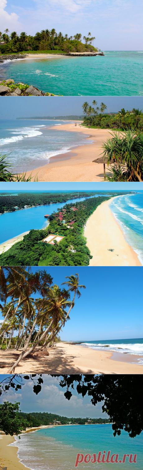 Las mejores playas de la Sri Lanka