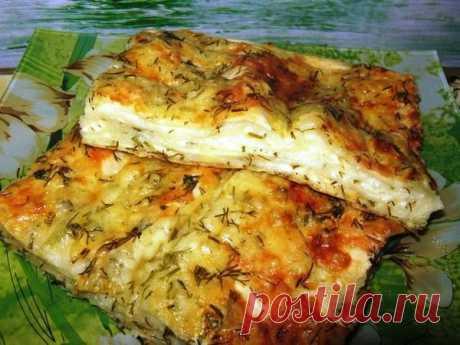 Ленивый, слоенный пирог из лаваша с сыром. | Вкусно-быстро | Яндекс Дзен