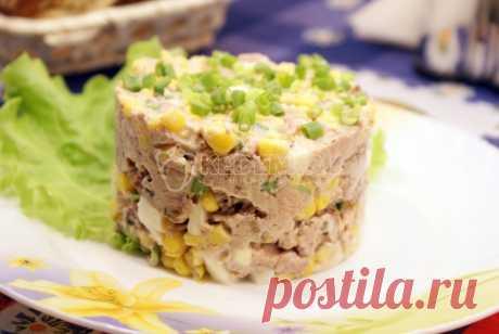 Салат из печени трески с гренками – Рецепт с фото. Рецепты. Салаты. Салаты с рыбой и морепродуктами