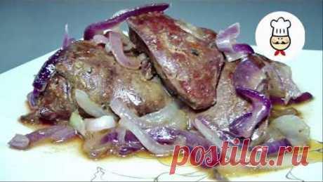 КУРИНАЯ ПЕЧЕНЬ которую едят даже те, кто ее не любит / Как вкусно приготовить куриную печень