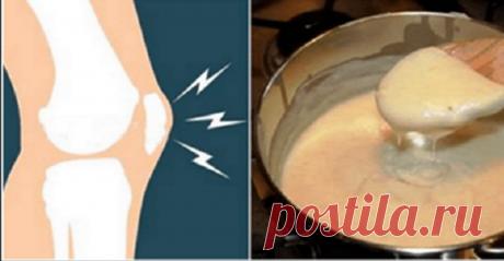 Этот рецепт вызвал настоящий переполох в мире! Исцелите свои колени и мгновенно восстанавливайте кости и суставы! Отличное средство!