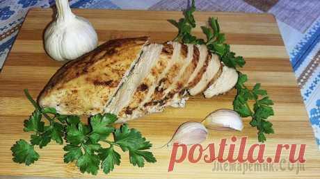 Куриное филе в горчично-чесночном маринаде