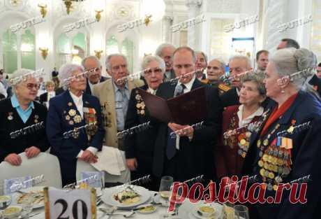 Прием в Кремле по случаю 70-летия победы в Сталинградской битве