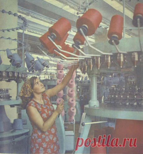Рабочие красотки Советского Союза. » ТрамБай! | Новостная медиаплатформа