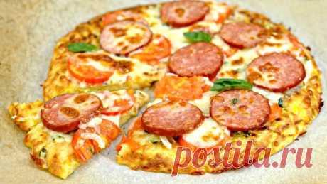 Кабачковая пицца - один из самых вкусных рецептов из кабачков — Кулинарная книга