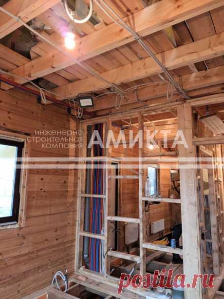 Монтаж внутренних инженерных систем в частном доме - отопления, горячего и холодного водоснабжения, канализации и электрики. Внутренние инженерные системы для частного дома - https://amikta.ru/inzhenernye-sistemy/vnutrennie-inzhenernye-sistemy/