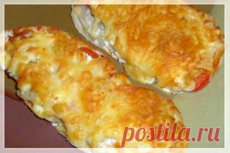 Вкусный обед: курица с перцем и помидорами | Вкусные рецепты
