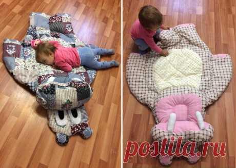 Посмотрите, какие лоскутные одеяла и коврики-бегемотики шьёт Елена Панькова. Их можно стирать в машинке | Подушкины секреты | Яндекс Дзен