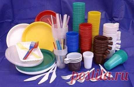 (+1) сообщ - Опасности одноразовой посуды | ДОМОХОЗЯЙКИ+