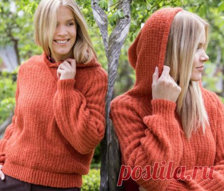 Вязаный свитер Carin | ДОМОСЕДКА