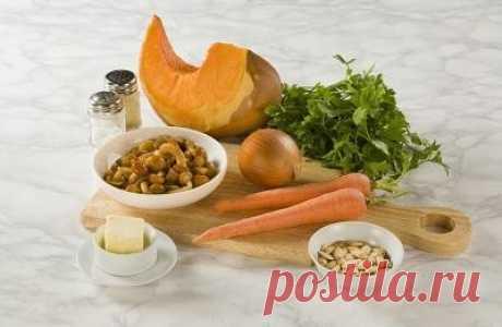 Сезонный рецепт: тушёная тыква с грибами — Фактор Вкуса