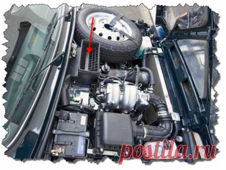 Установка салонного фильтра Нива Урбан | Auto-Components.Ru #Нива #Урбан #фильтрсалона
