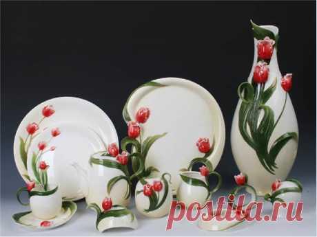 Фото красивых посуд