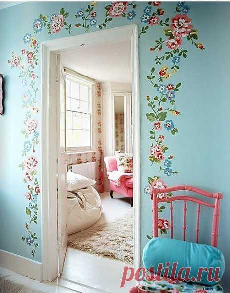 Cath Kidston стиль, очень хотелось бы дом ...   Живопись вдохновение