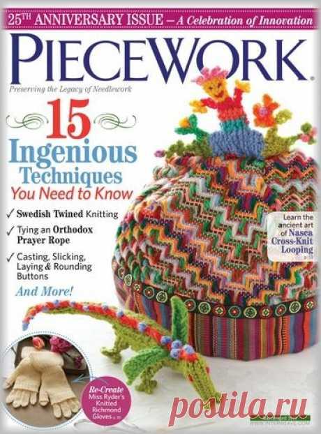 (+2) PieceWork - March/April 2018 (вязание спицами и крючком)