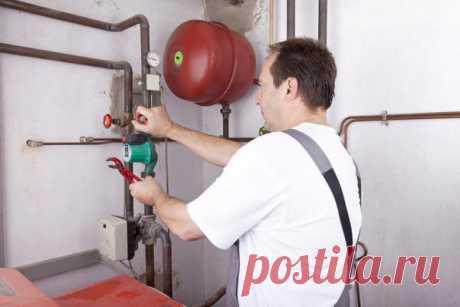 Как правильно установить расширительный бак в системе отопления