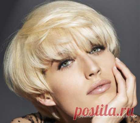 El peinado el Gorrito a los cabellos medios | los Peinados y el Peinado