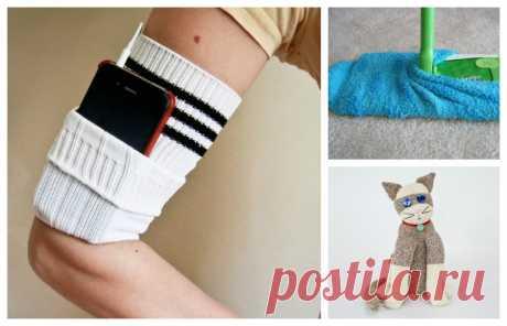 10 cosas útiles, que se puede hacer de una pareja de los calcetines
