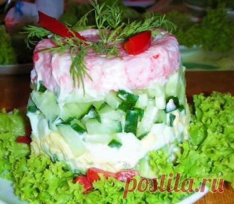Салат любимый - это мой самый любимый салат простенький и очень вкусный.