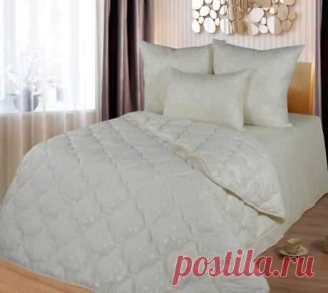 Одеяло из лебяжьего пуха (микрофибра) 2-x спальное 172×205