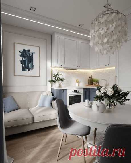 Кухня 11 кв. | Архитектурный журнал ADCity & Бюро М-4