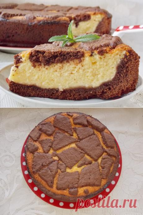 """Творожно-шоколадный пирог """"Жираф"""" - Ботаничка.ru"""