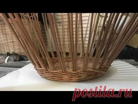 Плетём корзину. Часть 1. Запись эфира