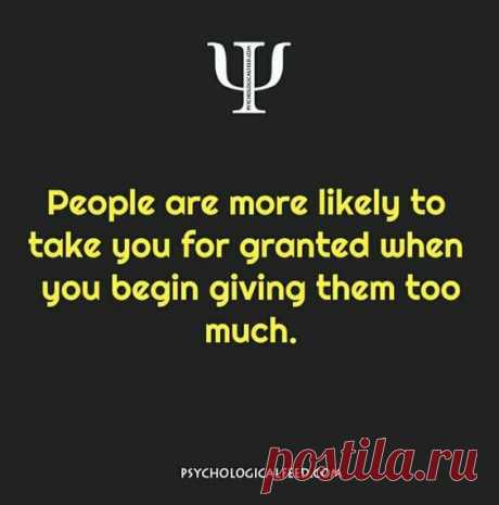 People are more likely...