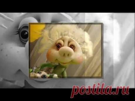 МК по изготовлению пушинок для кукол Одуван,цветка одуванчик и мушки из пластики  от Е. Лаврентьевой