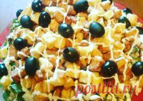 """(11) Салат """"для друзей"""" - пошаговый рецепт с фото. Автор рецепта Светлана . - Cookpad"""