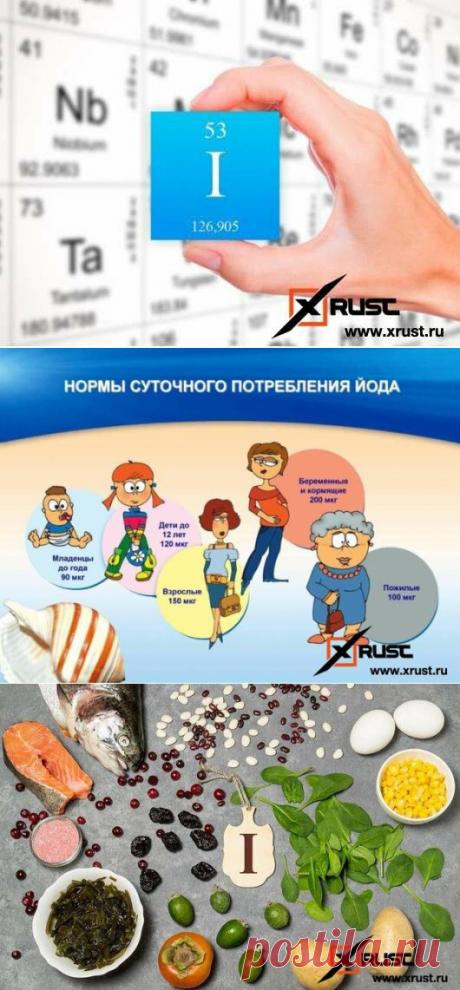 Названы признаки дефицита йода в организме | Xrust | Яндекс Дзен