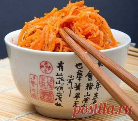 Морковь по-корейски просто и со вкусом! — Готовим по-домашнему