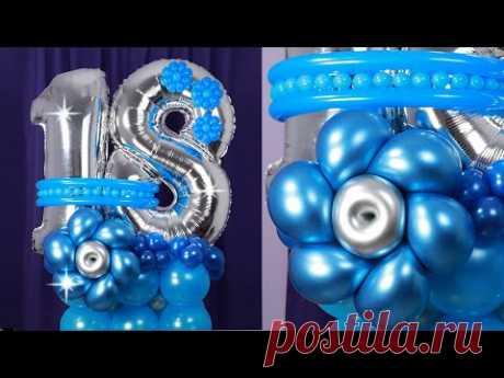 BOUQUET DE GLOBOS - como hacer un bouquet de globos - bouquet de globos cumpleaños - Gustavo gg