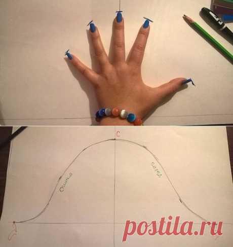 Как построить выкройку рукава не посещая курсы кройки и шитья | Краше Всех